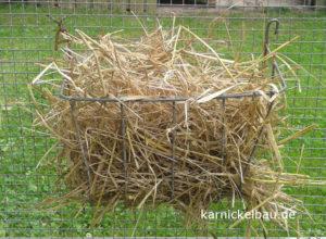Heuraufe-Kaninchen-Metall