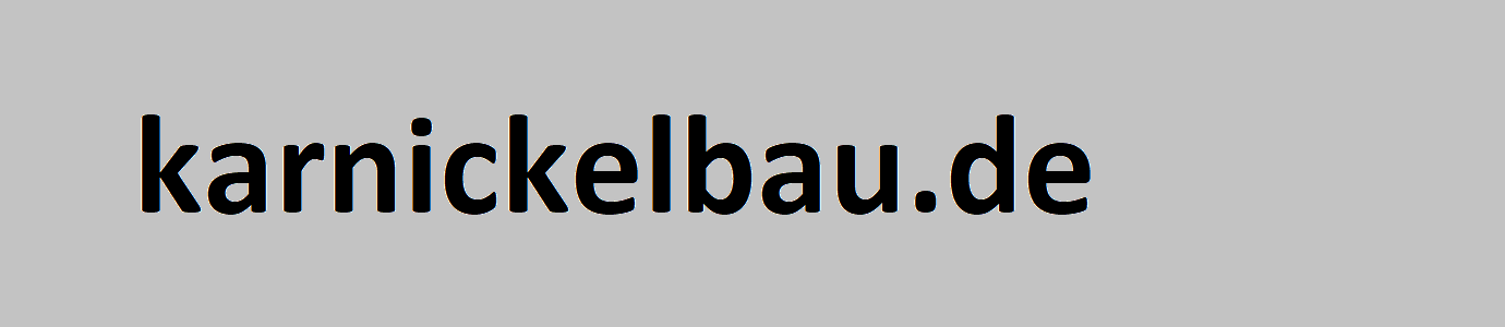 karnickelbau.de